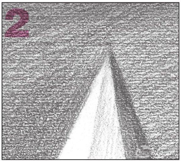 素描六棱锥绘画步骤7-2