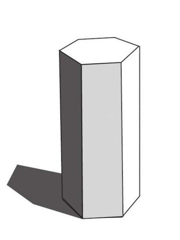 【重点剖析】 1、把握好物体的形状、比例。结构关系要准确。 构图要合理。对物体进行全面塑造。  素描六棱柱绘画要领1 在最后调整画面的时候,注意加强细节的表现。从整体到局部循环把握调整形体关系。尤其注意亮面的绘画,体现石膏质感。  素描六棱柱绘画要领2
