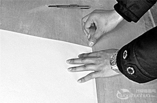素描透明胶的用法