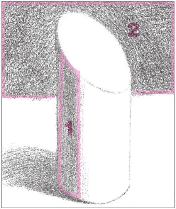 素描:斜面圆柱绘画技巧(3)
