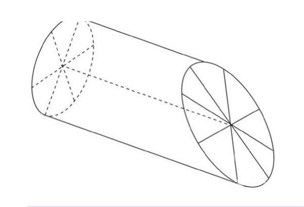 做圆锥的步骤图纸