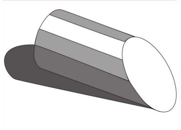 素描:斜面圆柱绘画技巧(5)