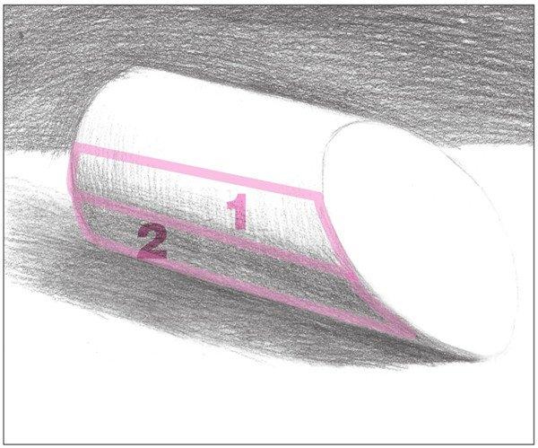 素描:斜面圆柱绘画技巧(7)