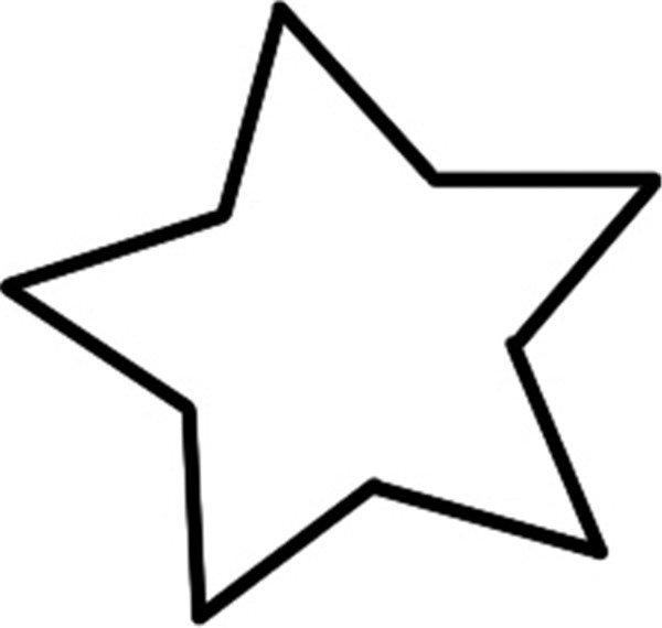 星星 手绘简笔画