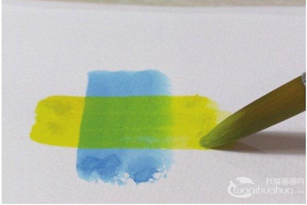 水彩技巧:如何叠色