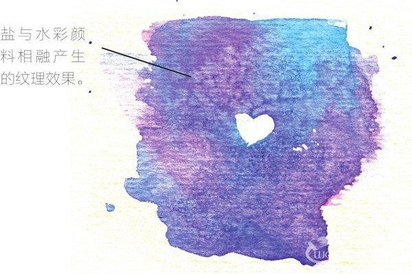 水彩画:用特殊工具制作特殊水彩效果