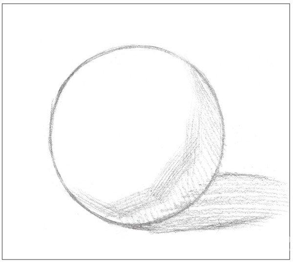 素描:球体绘画技法(3)