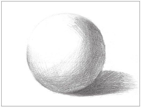 素描 球体绘画技法 3图片