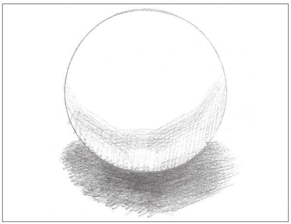 素描:球体绘画技法(7)