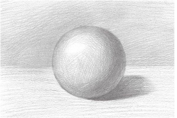 素描:球体绘画技法