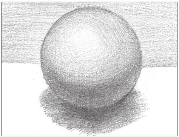 素描 球体绘画技法 9图片