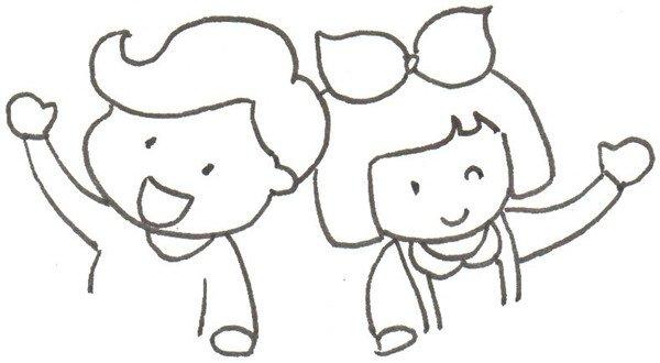 卡通画:热气球绘画步骤_儿童画教程_学画画_我爱画画网