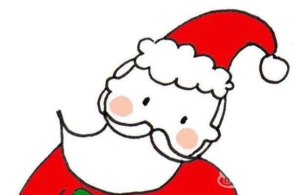 卡通画:圣诞老人的绘画技法