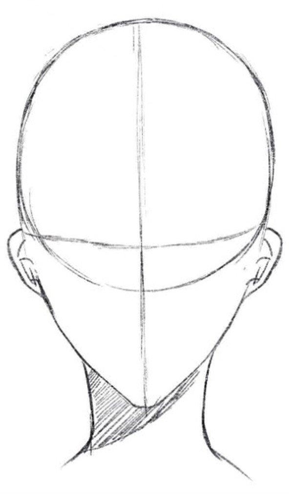 头�_水彩技巧:人体头部的画法(4)