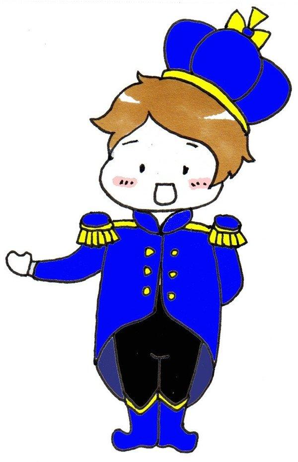 卡通画:小王子的绘画步骤(5)