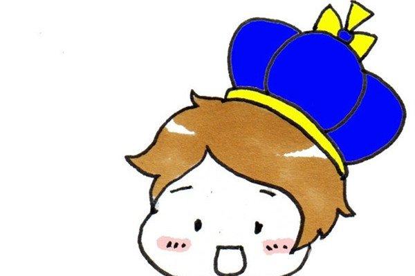卡通画:小王子的绘画步骤