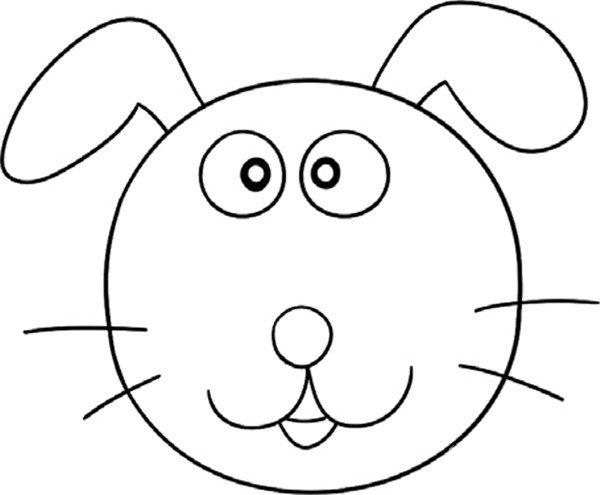 趣味简笔画:忠诚的小狗绘画教程(4)