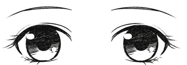 画画技巧动漫人物眼睛