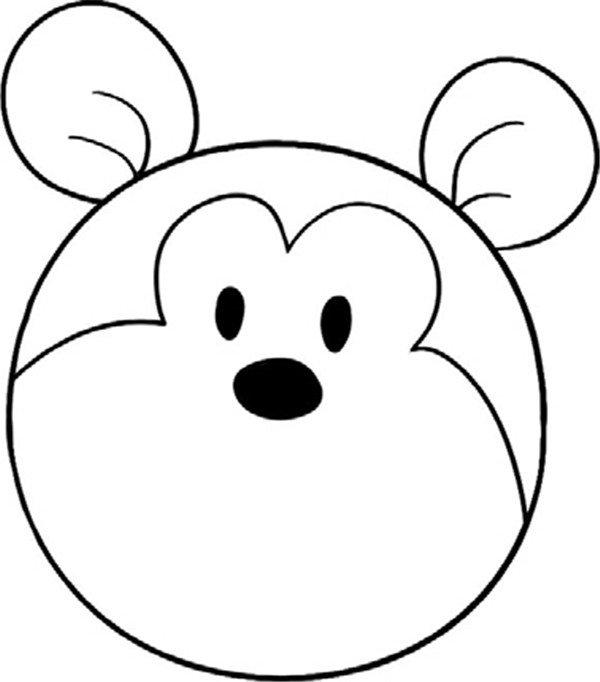 趣味简笔画:机敏的松鼠绘画步骤(3)