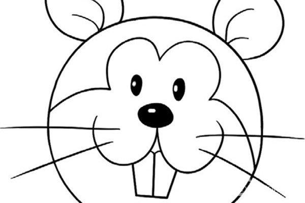 趣味简笔画:机敏的松鼠绘画步骤