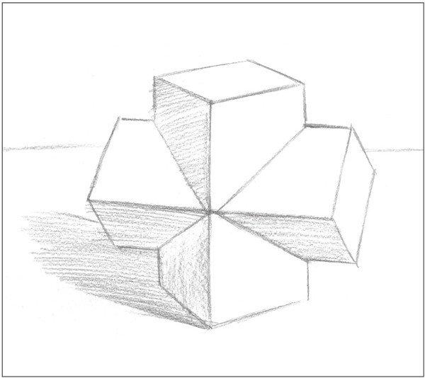 简笔画 手绘 素描 线稿 600_534