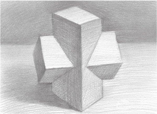 素描 十字贯穿体绘画技巧 5图片