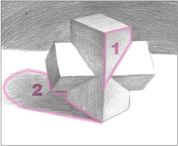 素描:十字贯穿体绘画技巧(8)