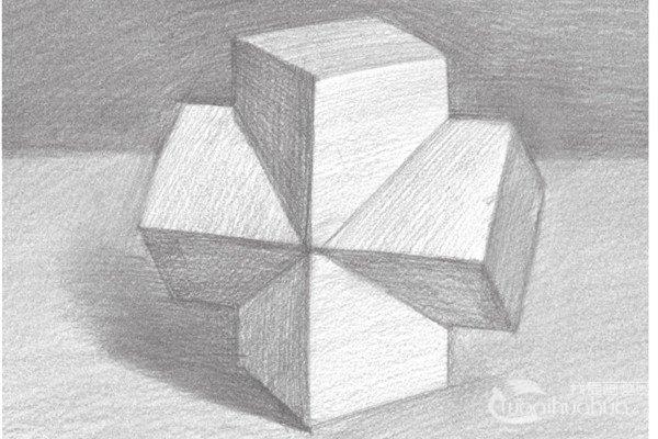 素描:十字贯穿体绘画技巧
