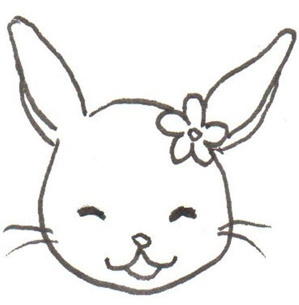 学画画 儿童画教程 卡通画 > 卡通画:小白兔的绘画教程      兔子的