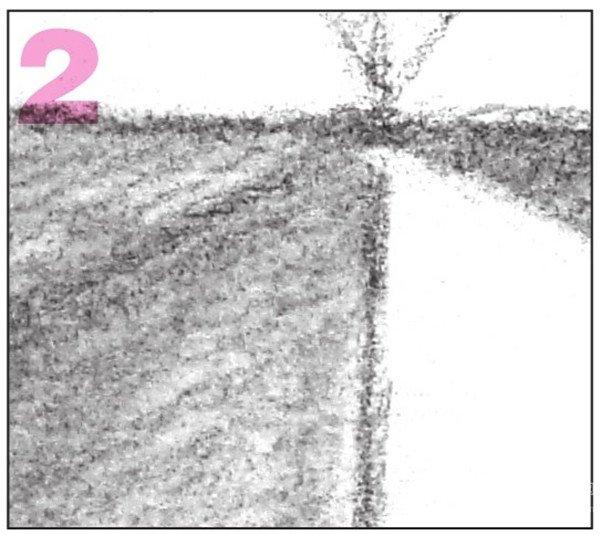 素描棱锥贯穿体绘画步骤7=2-素描 棱锥贯穿体绘画技巧 8图片