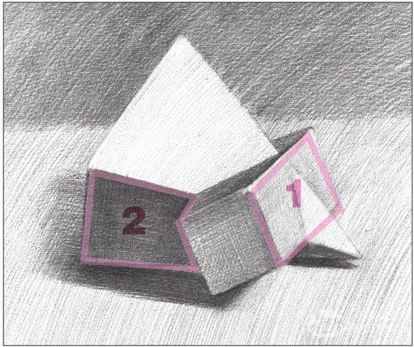 素描棱锥贯穿体绘画步骤13-素描 棱锥贯穿体绘画技巧 16图片