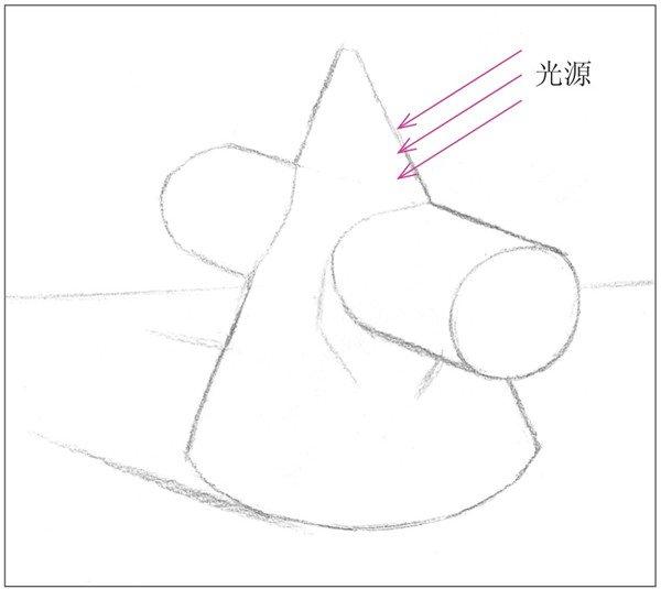纸圆锥的做法步骤图片