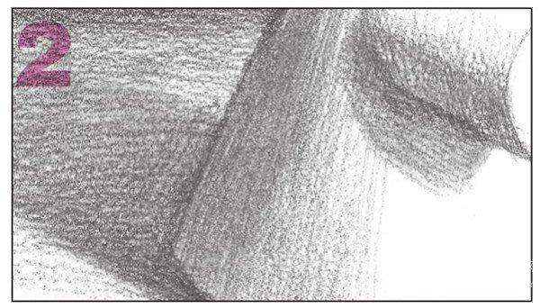 素描圆柱圆锥贯穿体绘画步骤9-2