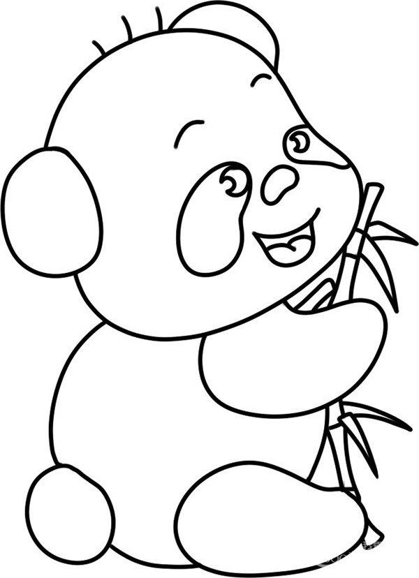 抱着竹子吃    大熊猫是中国特有种,现存的主要栖息地是中国四川