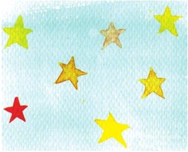 水彩:服装的质感的表现绘画步骤(3)