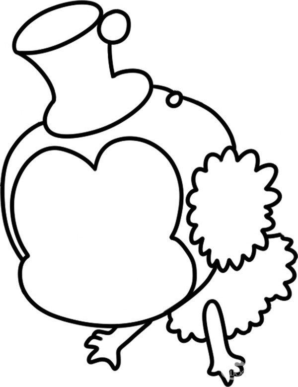 趣味简笔画:辛劳采蜜的小蜜蜂绘画步骤(2)图片
