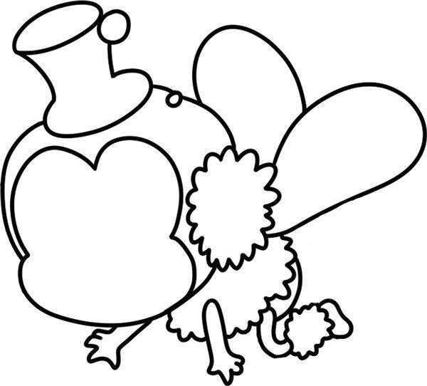 趣味简笔画:辛劳采蜜的小蜜蜂绘画步骤(3)图片
