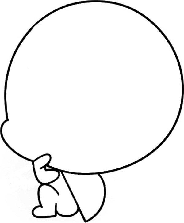 趣味简笔画:沉思的瓢虫绘画步骤二