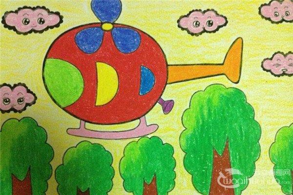 儿童画画应从线条简单的学起