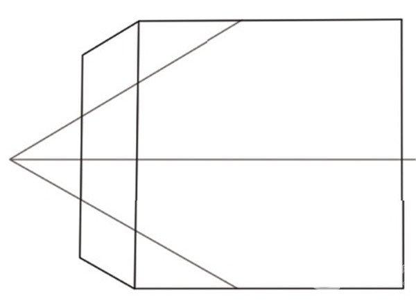 两点透视和三点透视为例,讲解如何运用透视关系绘制场景.