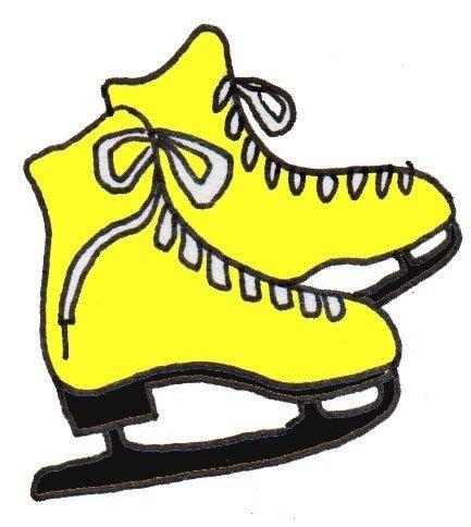 卡通画:冰鞋的绘画步骤(4)