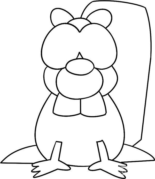 趣味简笔画:诡秘的水濑绘画步骤(4)