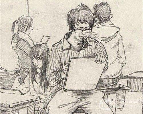 考生必看,教你如何画好场景速写