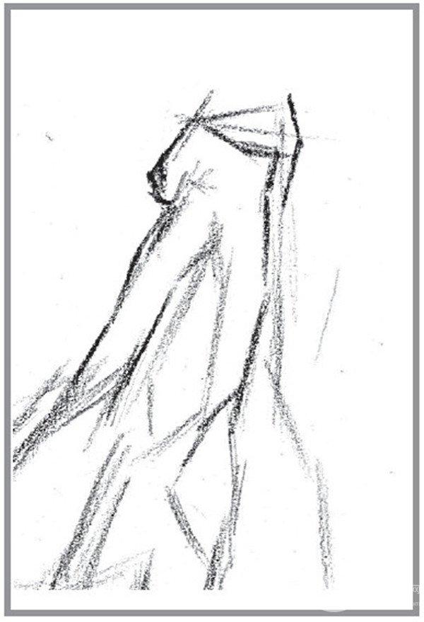 """素描:香蕉的""""想法""""绘画技巧教程(2)"""