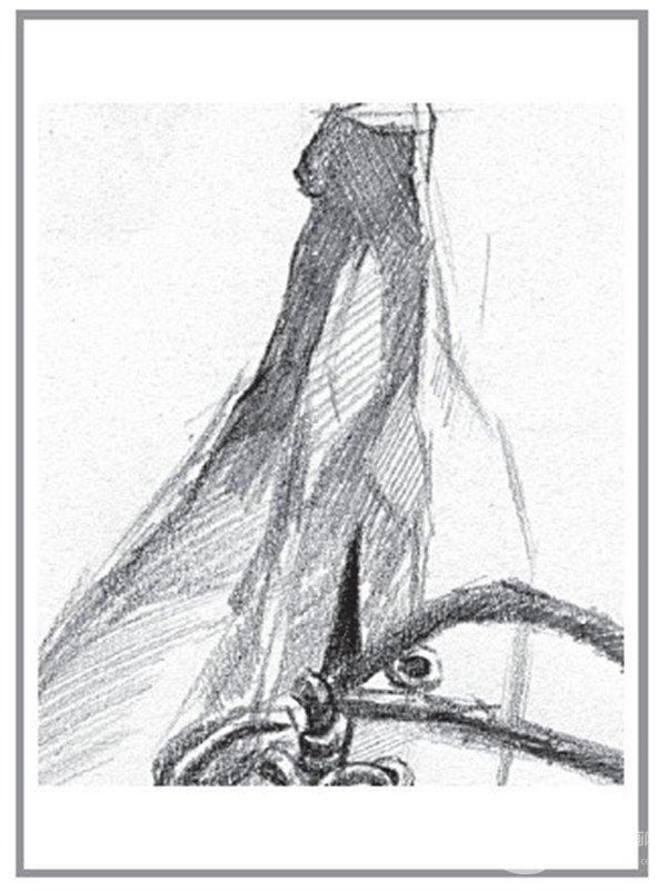 """素描:香蕉的""""想法""""绘画技巧教程(4)"""