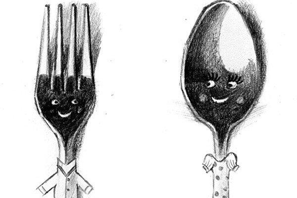素描:餐具的绘画技巧教程