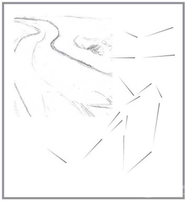 素描:公路的联想的绘画步骤