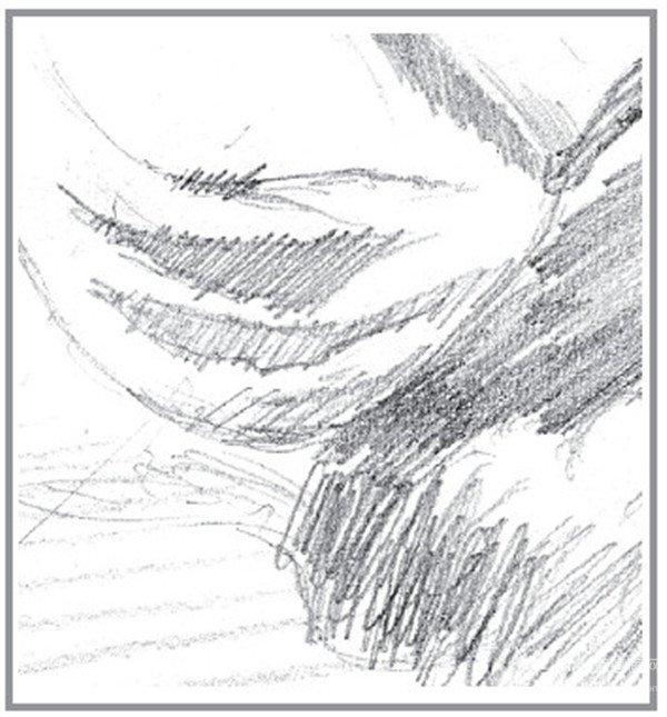 素描:公路的联想的绘画步骤(2)
