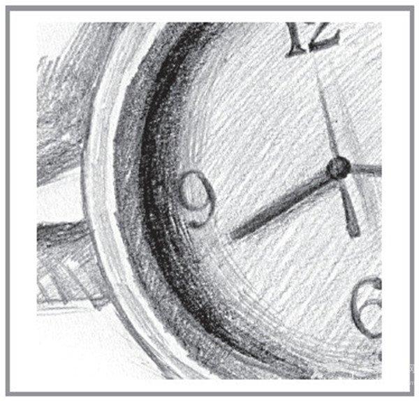 静物素描:时间的流逝的绘画技巧(7)图片