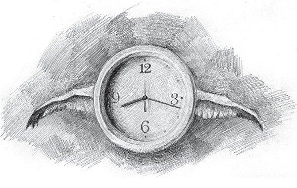 9、继续丰富背景中的视觉效果,继续调整画面,使整体画面的神秘感更加浓厚。  素描时间的流逝的绘画步骤9 时间是一个抽象概念,包括分、秒或者是年、月,都是人们发明出的一个便于记录万物运动规律的记录单位,如公里、米等。但时间本身是不存在的,所以时间倒流或回到过去,其实是建立在一个不存在的逻辑基础上的。